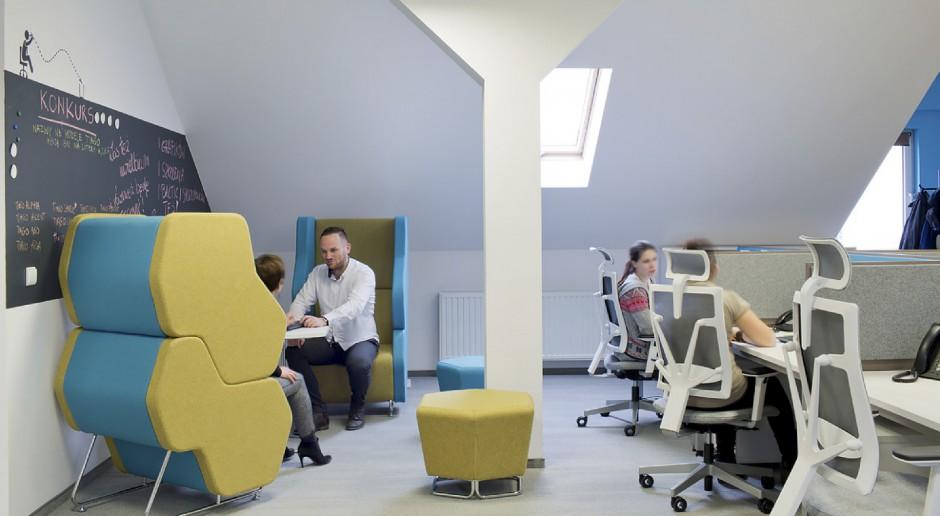 Przestrzeń biurowa w Grupie Nowy Styl. (fot. Grupa Nowy Styl)