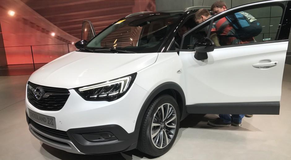 Opel Crossland X w czasie targów motoryzacyjnych w Genewie w 2017 r., źródło: wikimedia.org/CC BY-SA 4.0