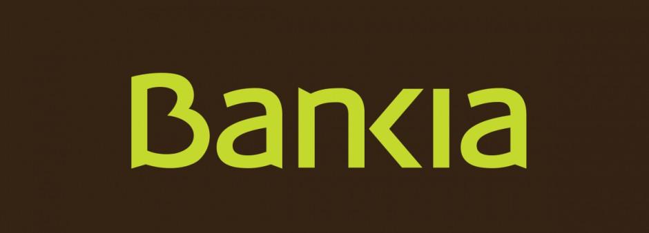 Logo hiszpańskiego banku Bankia, który ma zwalniać, źródło: wikimedia.org/domena publiczna