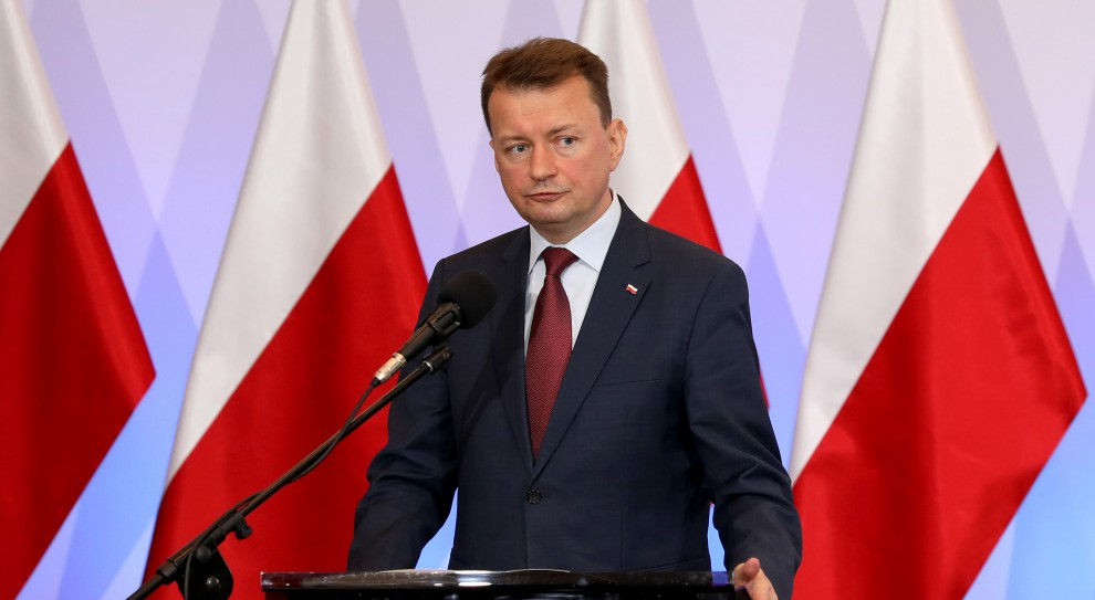 SOP będzie składać się ze świetnych, doświadczonych funkcjonariuszy - powiedział szef MSWiA (Mariusz Błaszczak, fot. mswia.gov.pl)