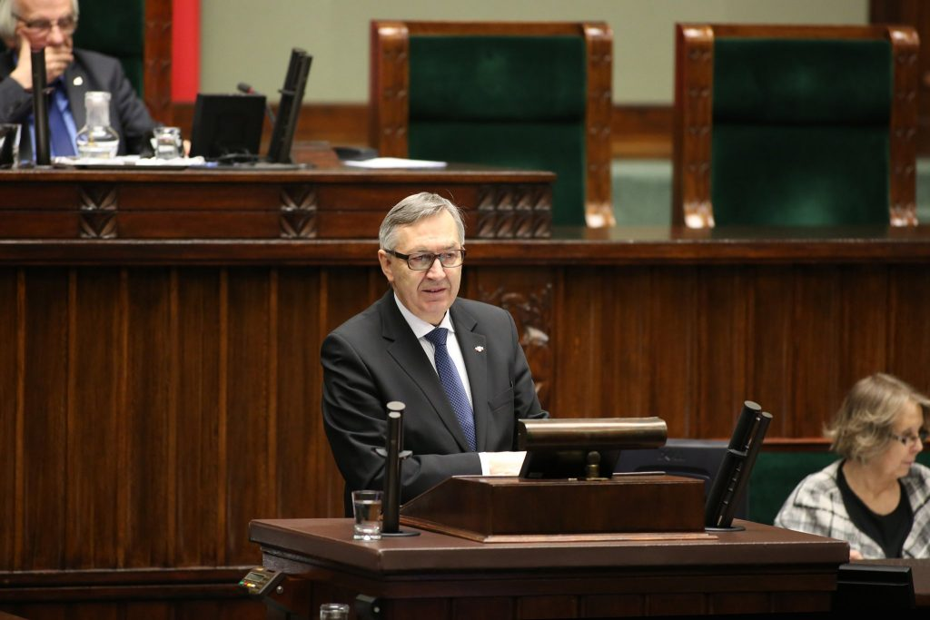 Stanisław Szwed, wiceminister rodziny, pracy i polityki społecznej. Fot.stanislawszwed.pl
