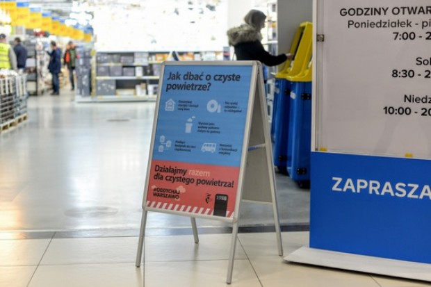 Firmy pomagają Warszawie w walce o czyste powietrze