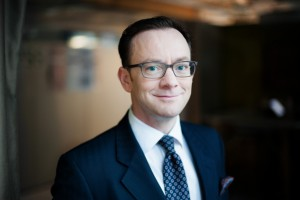 Stuart Beety odpowiedzialny za rozwój biznesowy Skanska