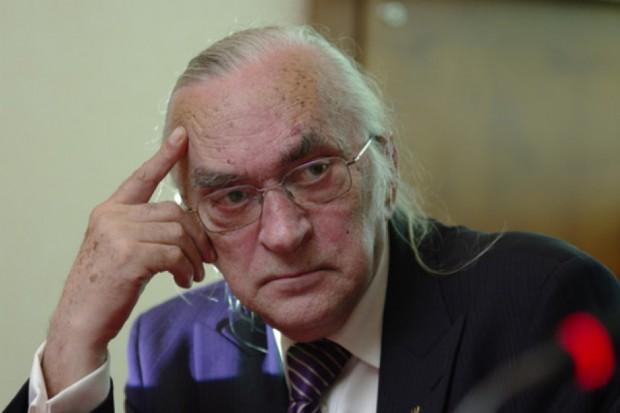 Prof. Andrzej Barczak podkreśla, że trzeba przystopować presję płacową w górnictwie (Fot. PTWP)