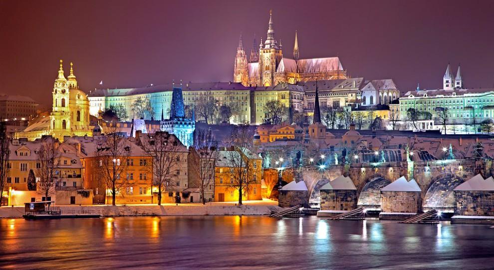 Czechy: protest taksówkarzy w Pradze
