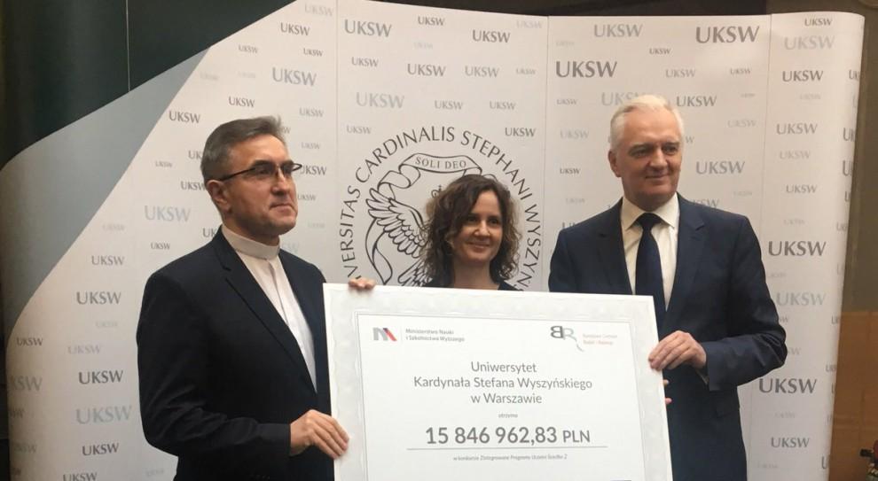 Prawie 250 mln zł na rozwój uczelni średniej wielkości