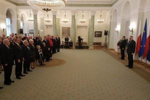 Prezydencki odznaczenia dla związkowców i rzemieślników