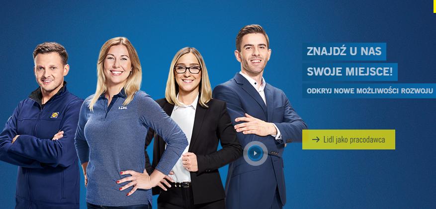 Bohaterami kampanii Lidla byli pracownicy sieci, którzy sami się do tego zgłosili (fot. lidl.pl)