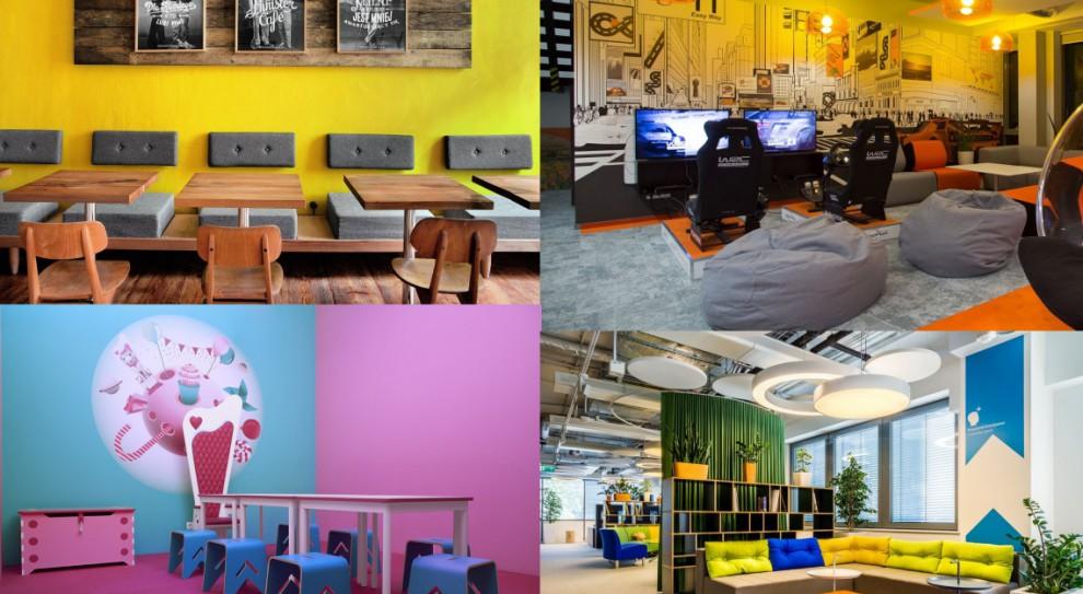 Biurowa gra w kolory. Sprawdźcie, w jakiej kolorystyce najlepiej się pracuje