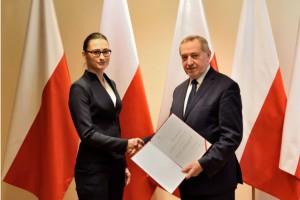 Małgorzata Golińska nowym sekretarzem stanu w resorcie środowiska