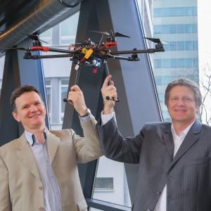 Drony wspierane przez sztuczną inteligencję