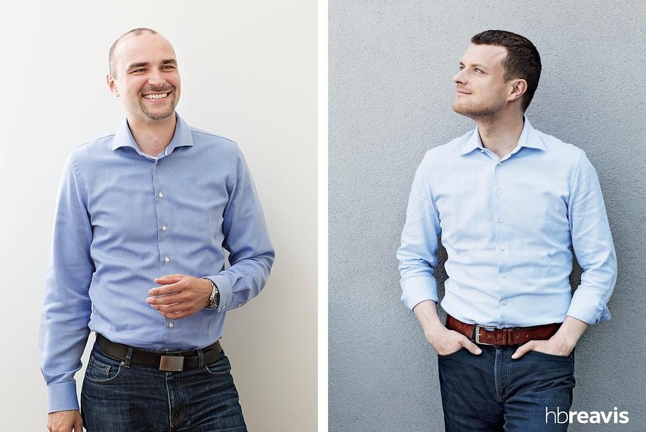 Marian Herman i Radim Rimanek (fot.mat.pras./HB Reavis)