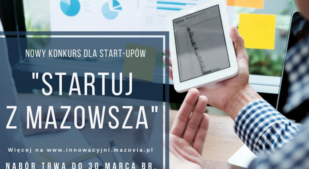 Startuj z Mazowsza: Rusza konkurs dla start-upów