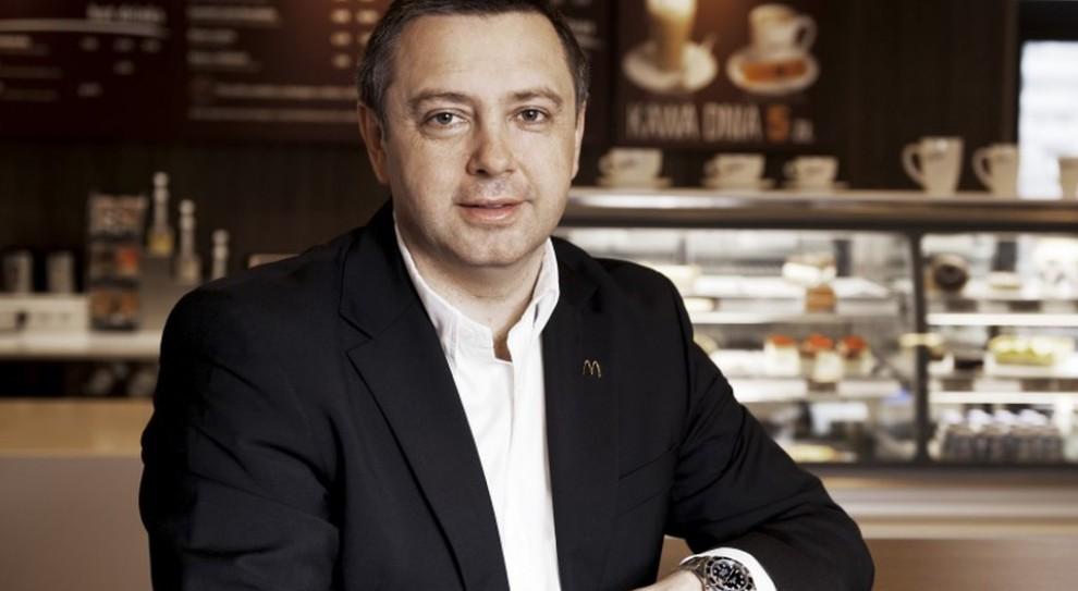 Piotr Jucha w globalnym kierownictwie McDonald's