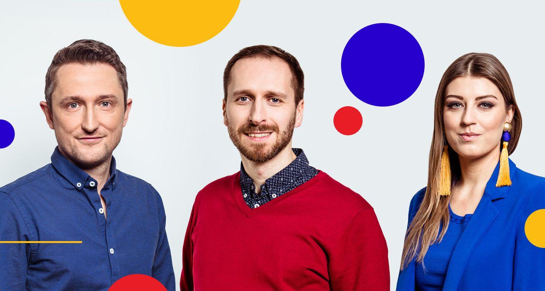 Od lewej: Jakub Wolff, Krzysztof Wagner i Katarzyna Budzyń-Pepłowska (fot.mat.pras./brandvoice.prowly.com)