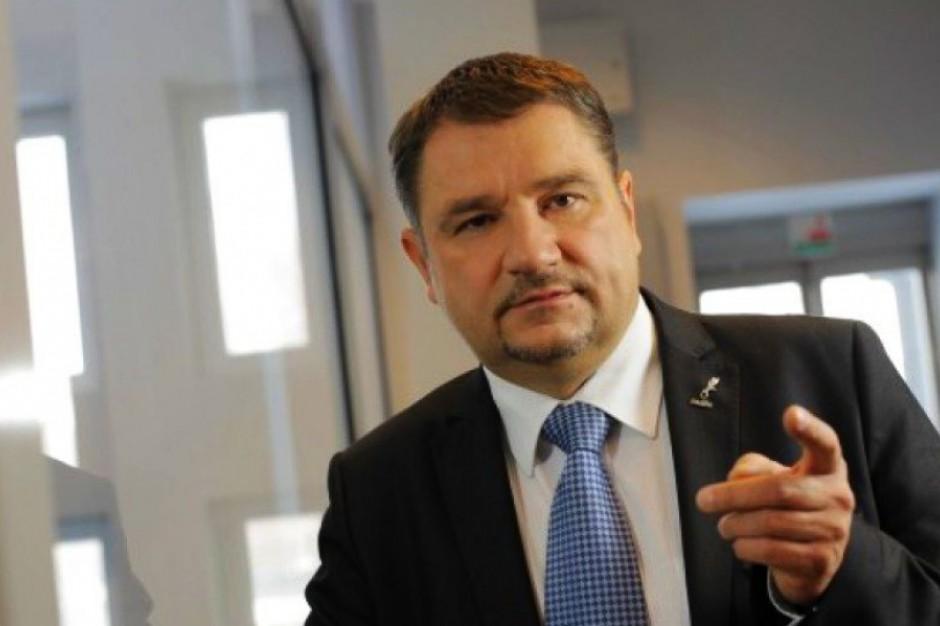 Piotr Duda podkreślił, że projekt ograniczenia handlu w niedzielę jest projektem obywatelskim. (Piotr Duda, fot.PTWP)
