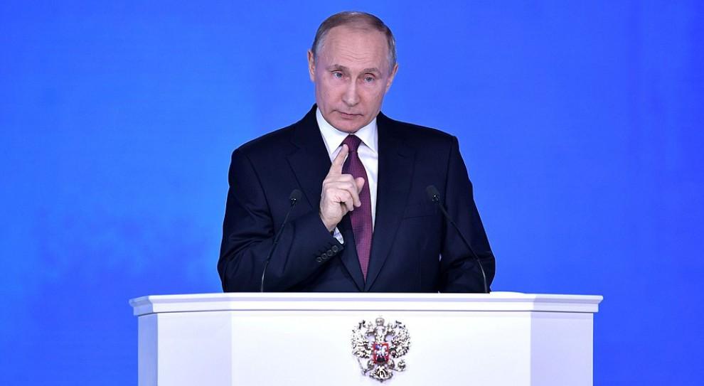 Reforma emerytalna w Rosji przyniosła spadek notowań Putina