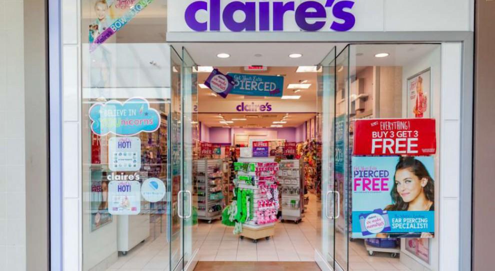 Sieć sklepów Claire's na skraju bankurctwa. Przyszłość pracowników pod znakiem zapytania