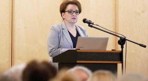 Anna Zalewska do pracodawców: Włączcie się w prace nad Zintegrowanym Systemem Kwalifikacji