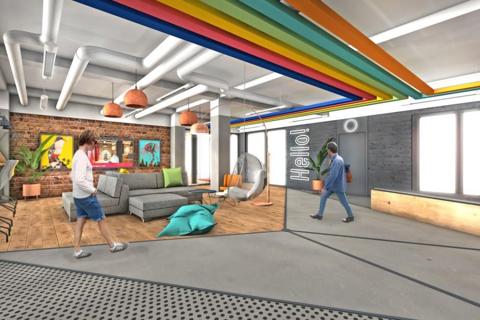 Wizualizacja przestrzeni biurowej BE Yourself (fot. mat. pras.)