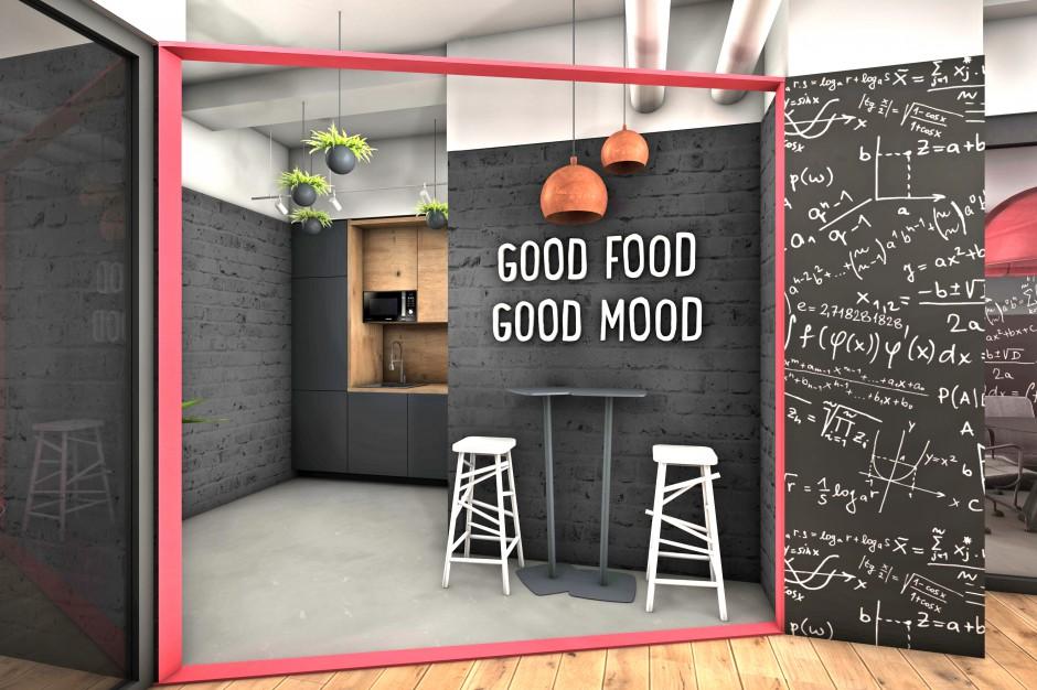 Wizualizacja jednej z przestrzeni kuchennych w BE Yourself (fot. mat. pras.)