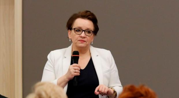 Anna Zalewska: Istotne jest budowanie bardzo szybko wysokiej jakości szkolnictwa branżowego