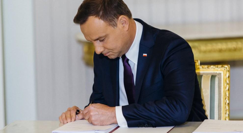 Prezydent podpisał pięć ustaw składających się na Konstytucję Biznesu