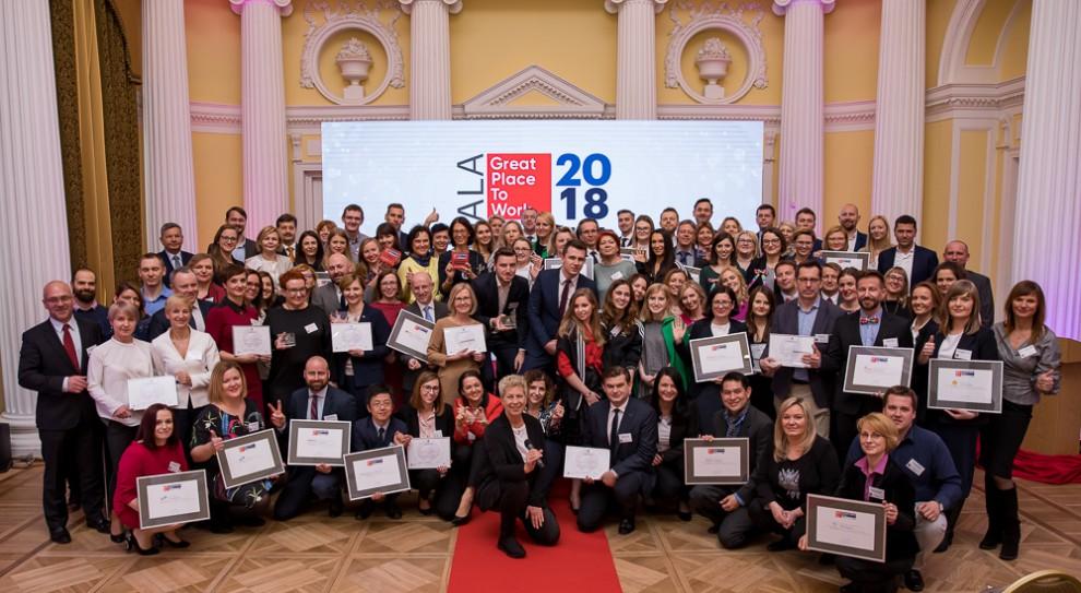 Wybrali 25 Najlepszych Miejsc Pracy w Polsce