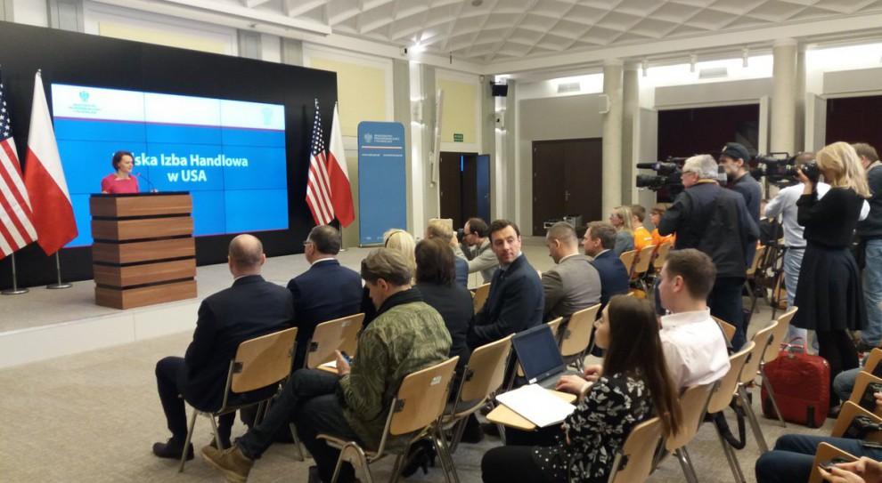 Jadwiga Emilewicz: Na rynku amerykańskim działa dzisiaj ok. 60 polskich firm