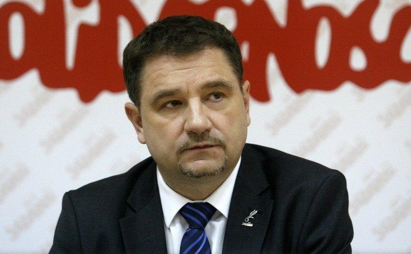 Solidarność była za tym, aby usiąść i przyjrzeć się kodeksowi pracy - zaznaczył Duda (Piotr Duda, fot.solidarnosc.org.pl)