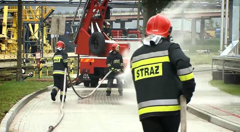 Testy sprawnościowe strażaków po nowemu