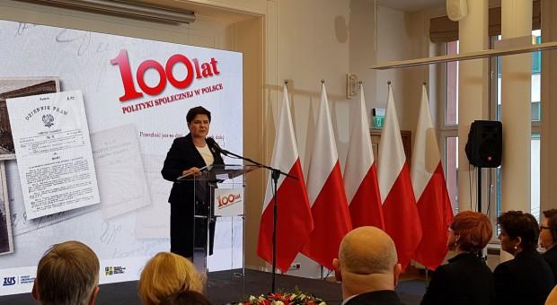 Beata Szydło: Ludzie powinni zobaczyć, że można godnie żyć