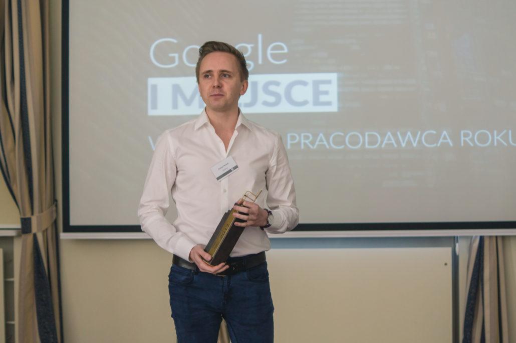 Laureatem pierwszego miejsca - podobnie jak w ubiegłym roku została firma Google. (fot.aiesec.pl)