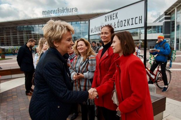 Czy w Łodzi powstanie pomnik włókniarek? To zależy od władz miasta: prezydent H. Zdanowskiej i radnych (fot.twittter)