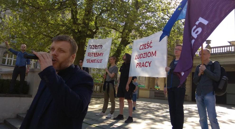 Rozmowy o kodeksie pracy i zasługach przedwojennej lewicy. Tak politycy świętowali 1 maja