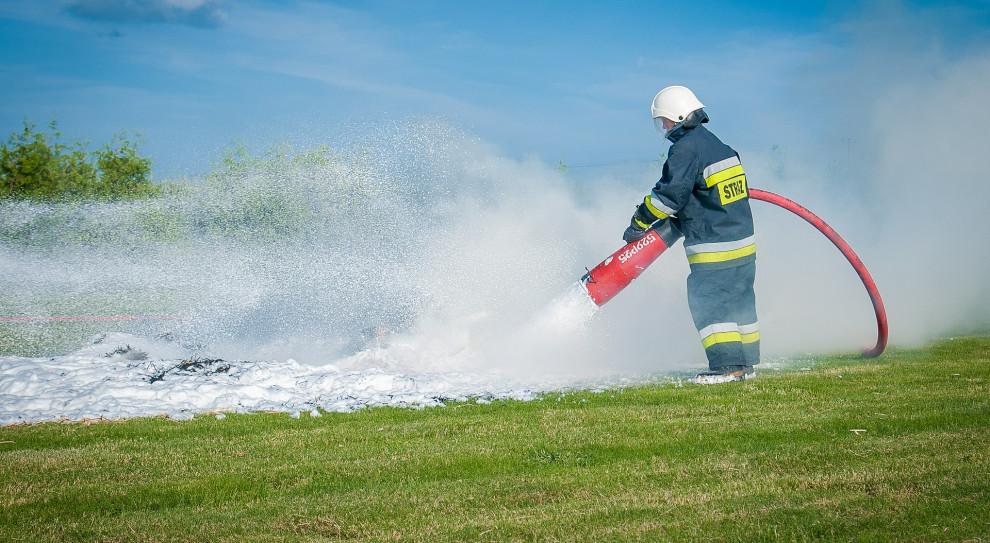 Wielkopolska straż pożarna: nie ma obaw, że zabraknie strażaków do pracy