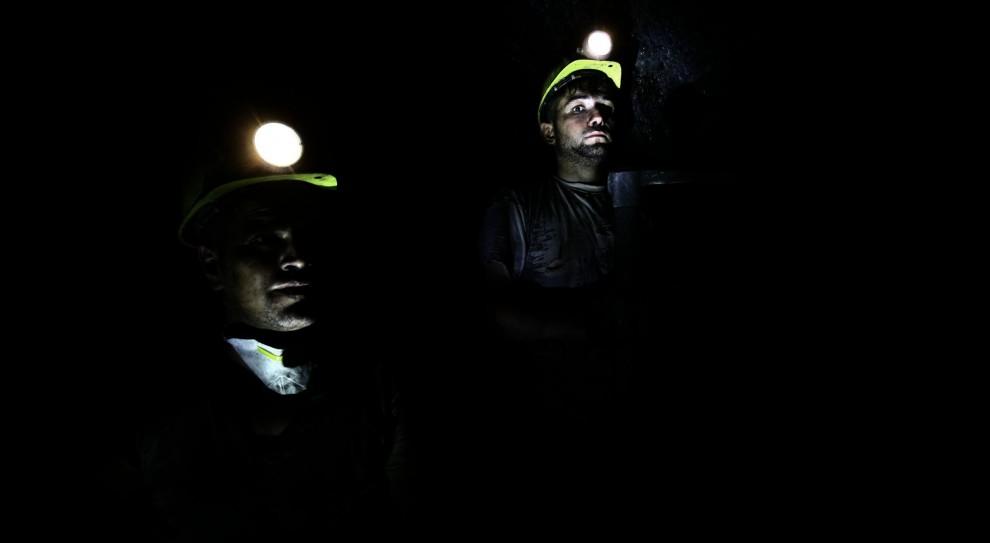 Kopalnia Zofiówka: Pies tropiący pomaga szukać zaginionych górników