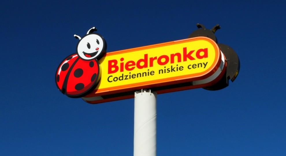 Pożar Biedronki w Namysłowie. Pracownicy ewakuowani
