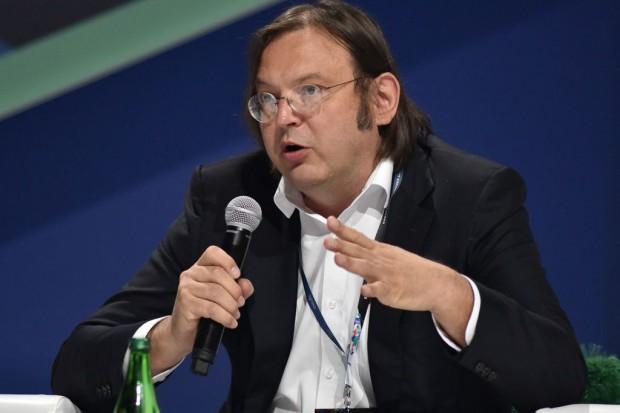 Stefan Thurner, prezes Complexity Science Hub, profesor Uniwersytetu Medycznego w Wiedniu. Fot. PTWP
