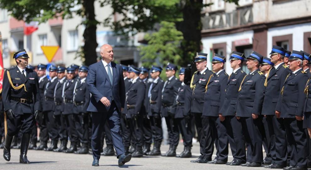 Joachim Brudziński: Zaufanie do strażaków bierze się z ich służby i poświęcenia