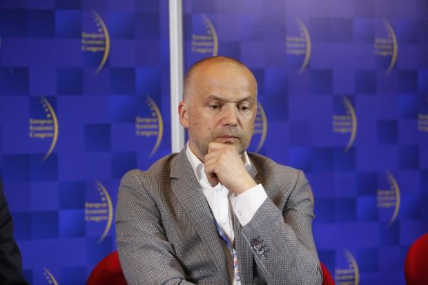 Sławomir Harazin, wiceprezes firmy dystrybucyjnej Action (fot. PTWP)
