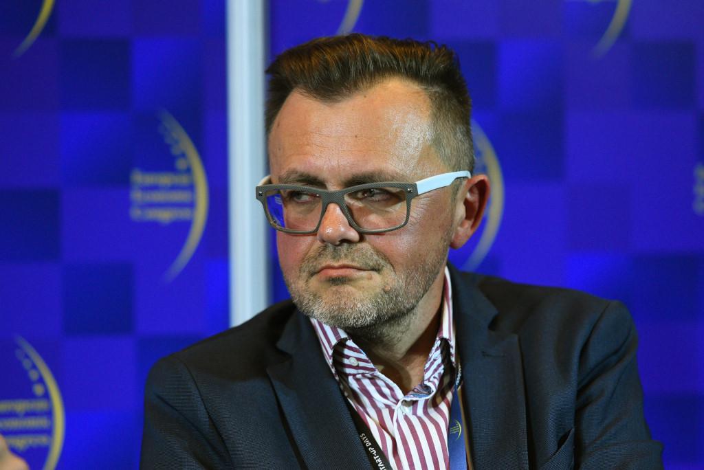 """Robert Feluś, redaktor naczelny """"Faktu"""" (Fot. PTWP)"""