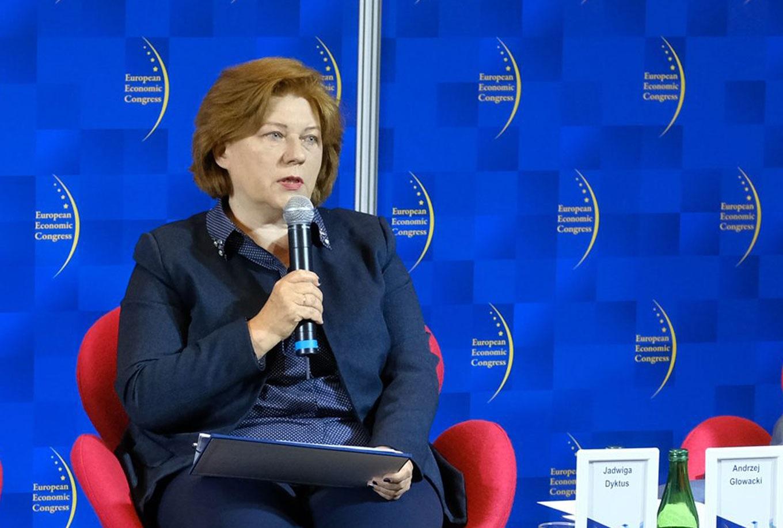 Jadwiga Dyktus, prezes zarządu Towarzystwa Finansowego Silesia.