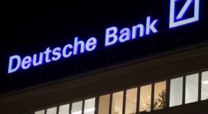 Deutsche Bank zwolni kilkadziesiąt tysięcy pracowników