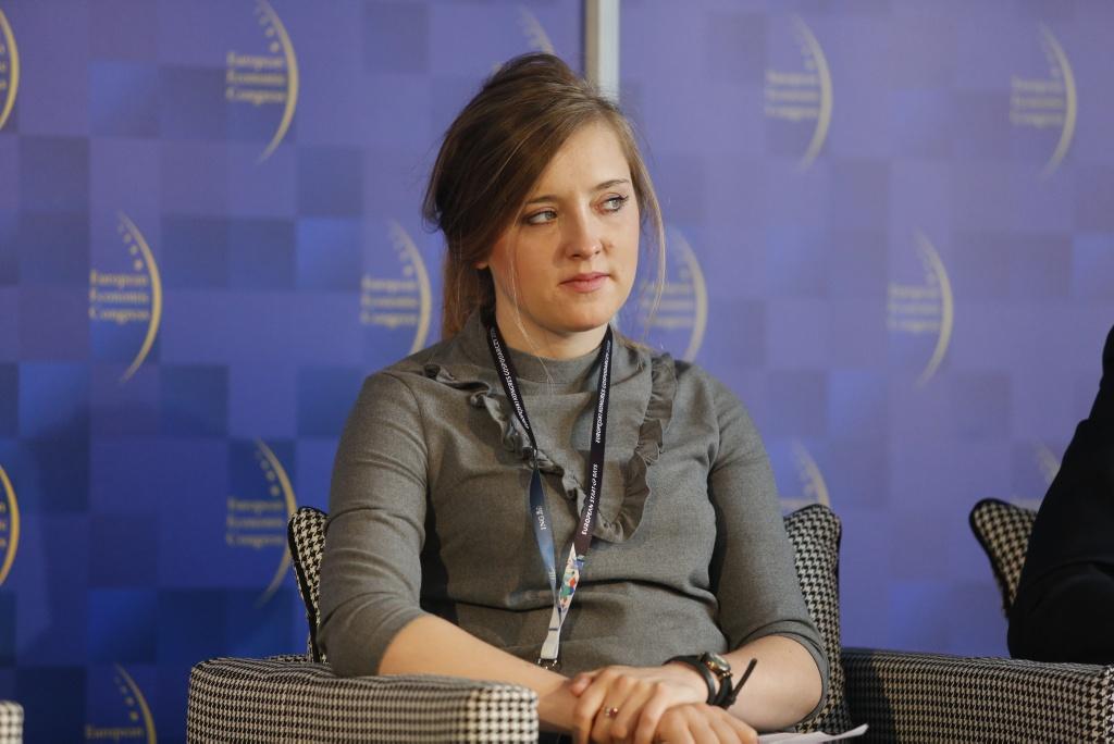 Marta Mizak z Departamentu Innowacji w Ministerstwie Przedsiębiorczości i Technologii. (fot.PTWP)