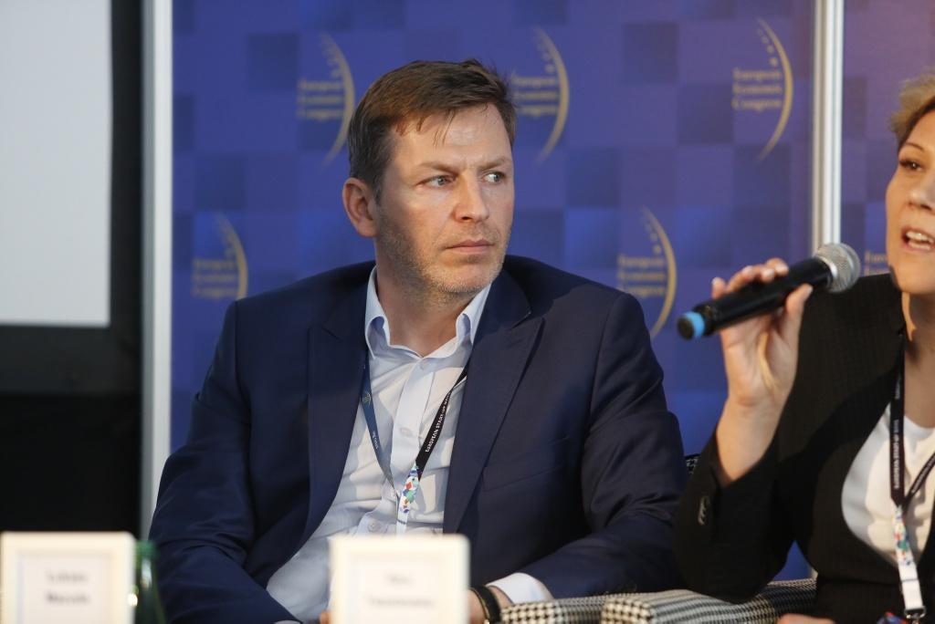Łukasz Macuda, dyrektor zarządzający w Luxoft. (fot.PTWP)
