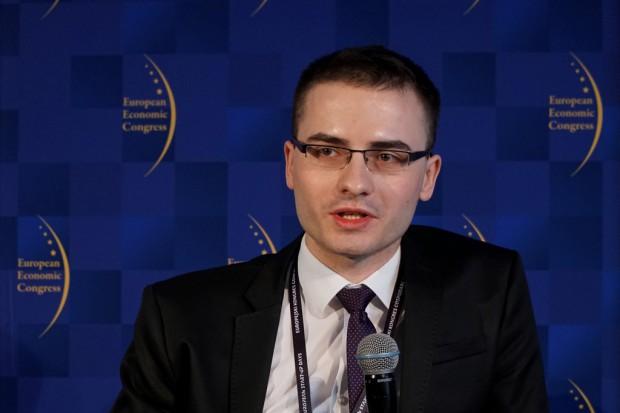 Michał Tokarski, ekspert ds. monitoringu i ewaluacji projektu Dialog Usystematyzowany (fot. PTWP)