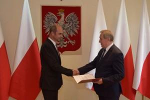 Andrzej Szweda-Lewandowski nowym Generalnym Dyrektorem Ochrony Środowiska