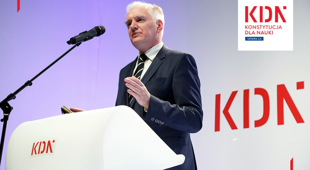 Jarosław Gowin: Polityka nie wciśnie się na uczelnie