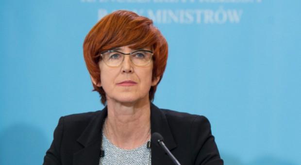 Elżbieta Rafalska: Stopa bezrobocia w maju 6,1 proc.